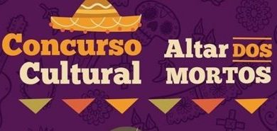 logotipo do concurso cultural altar dos mortos