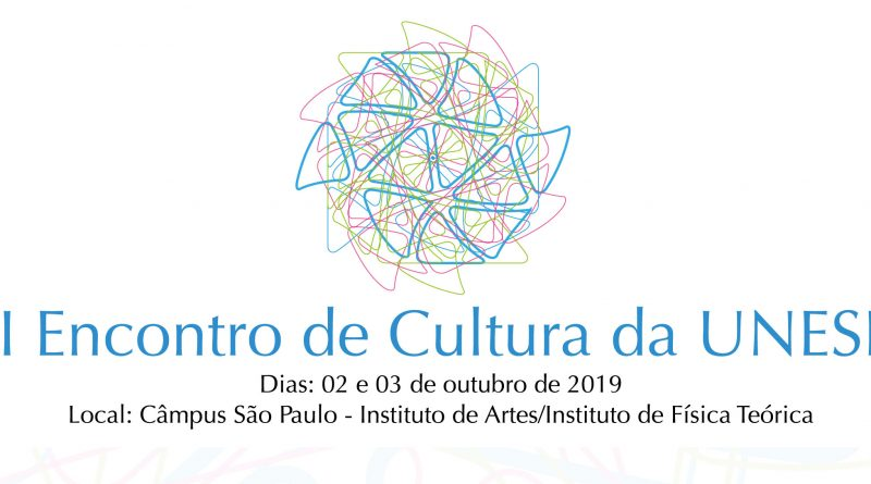 Logotipo do segundo encontro de cultura da unesp