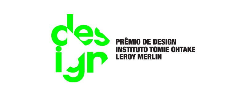 Logotipo do prêmio de design Instituto Tomie Ohtake Leroy Merlin